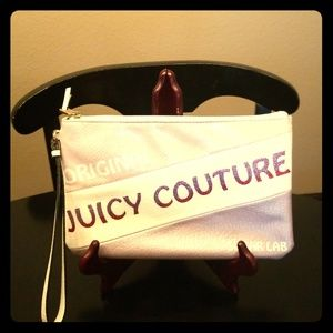 Like New Large Juicy Couture wristlet!